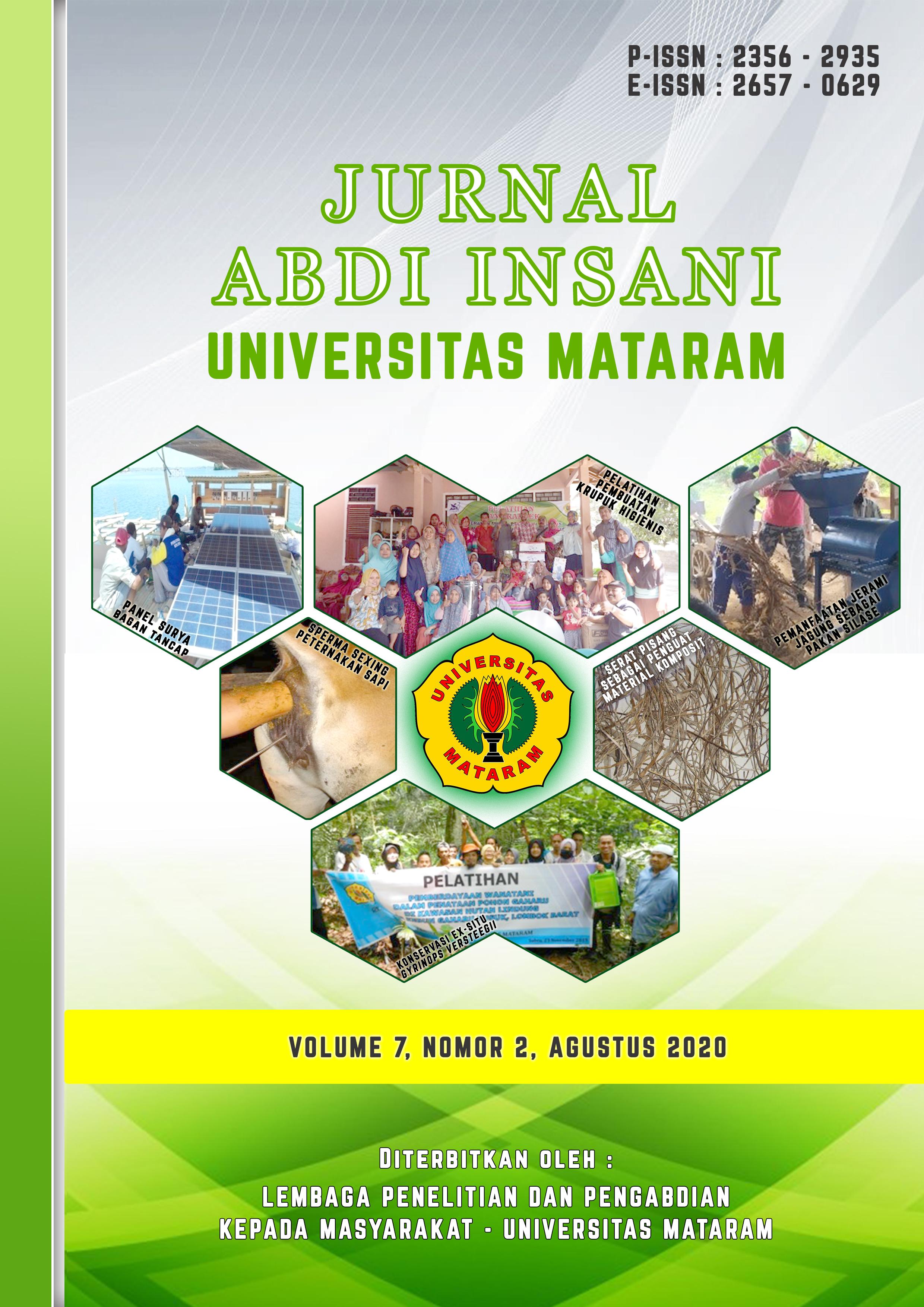 Jurnal Abdi Insani Universitas Mataram